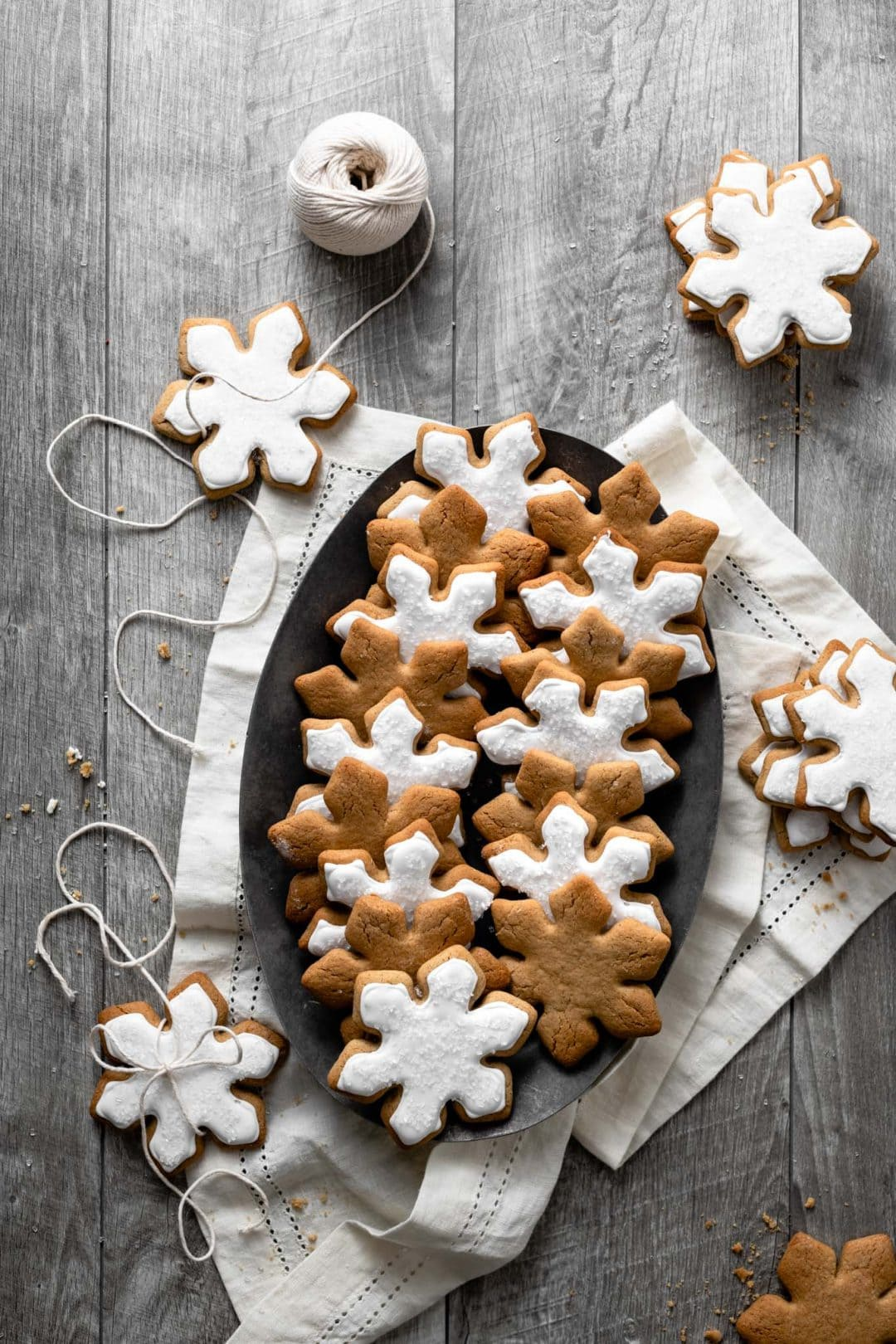 Snowflake Maple Cookies Two Cups Flour