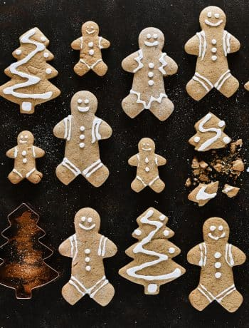 Soft Maple Syrup Gingerbread Cookies