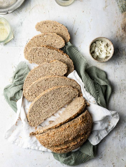 Easy multigrain bread recipe.
