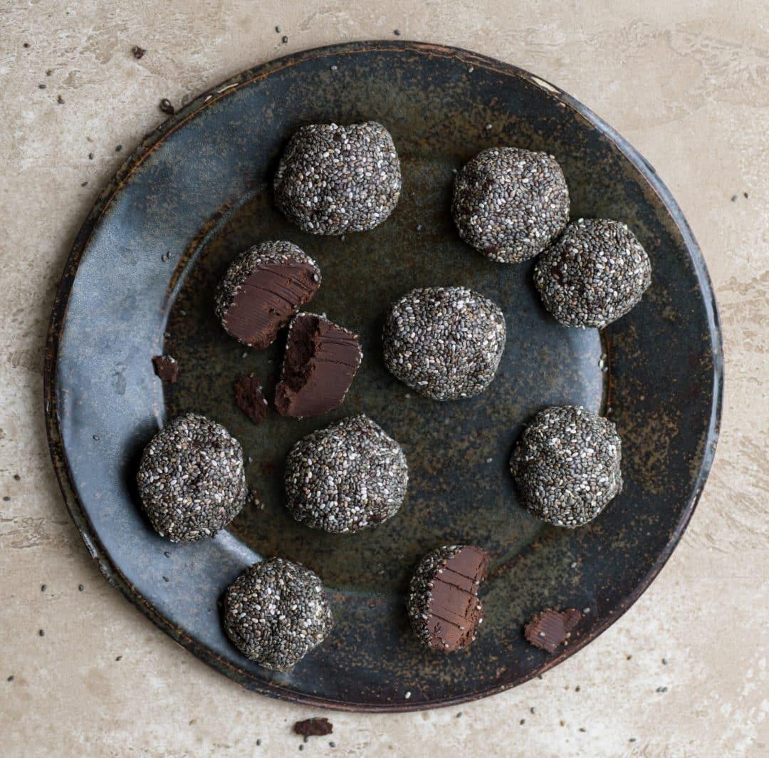 Caca Chia Seed Truffles