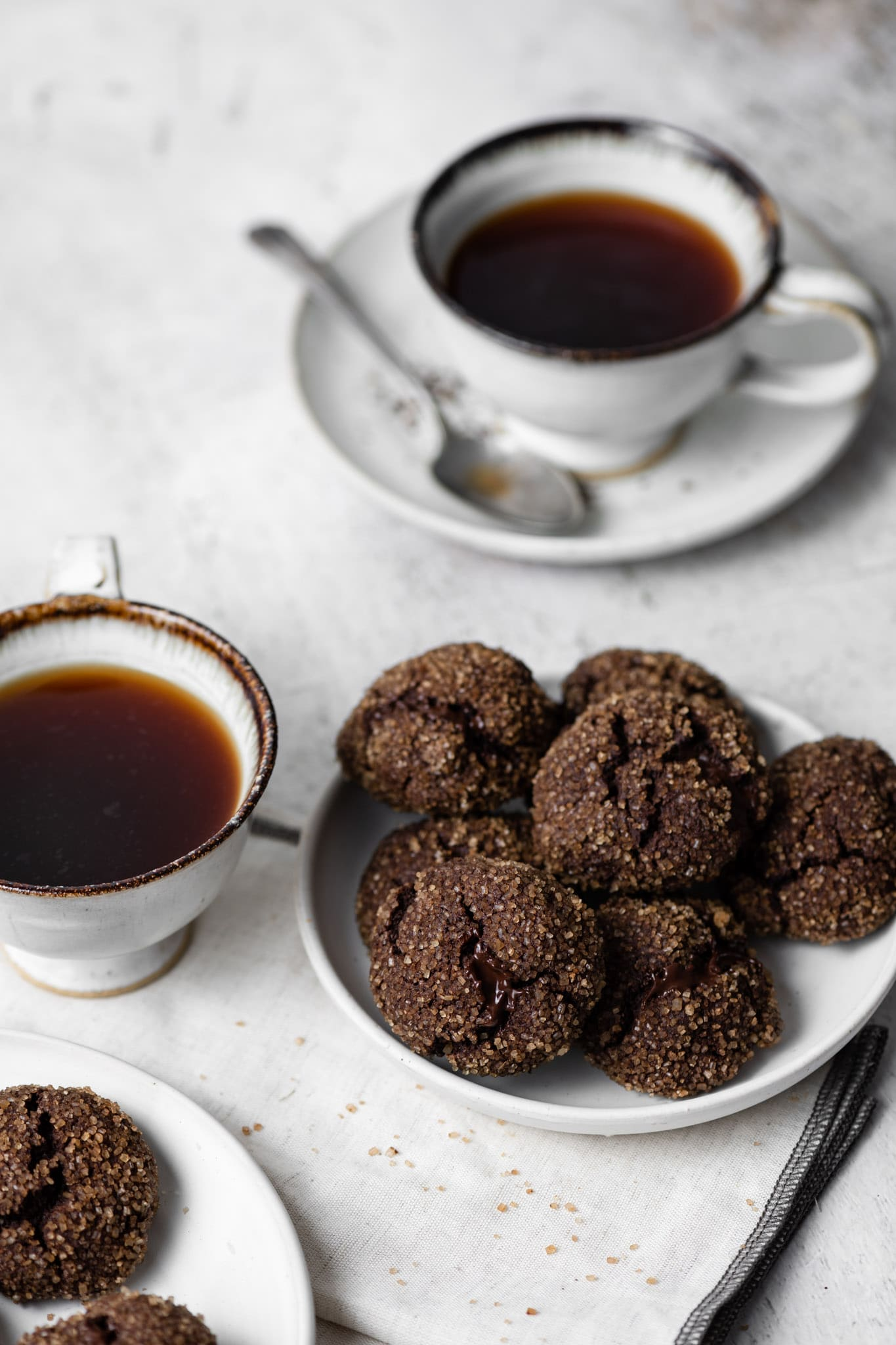 Chai Tea and Chocolate Chai Cookies.
