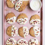 quinoa flour pistachio cookies