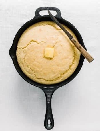 Sweet Iron Skillet Cornbread