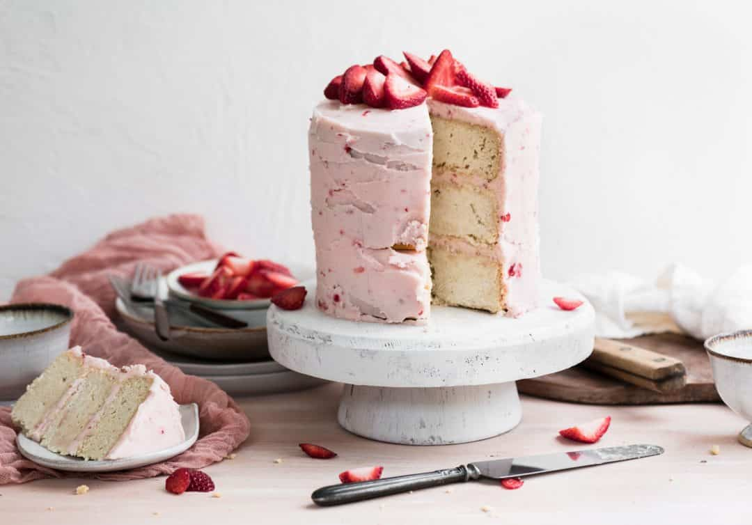 Recipe for Strawberry Lemonade Cake