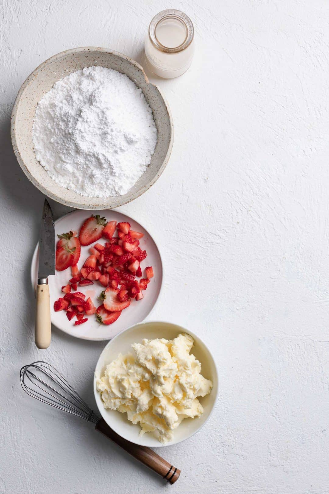 Strawberry Frosting Recipe Ingredients