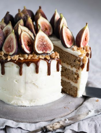 Chai Spiced Cake with Maple Cream Cheese Frosting
