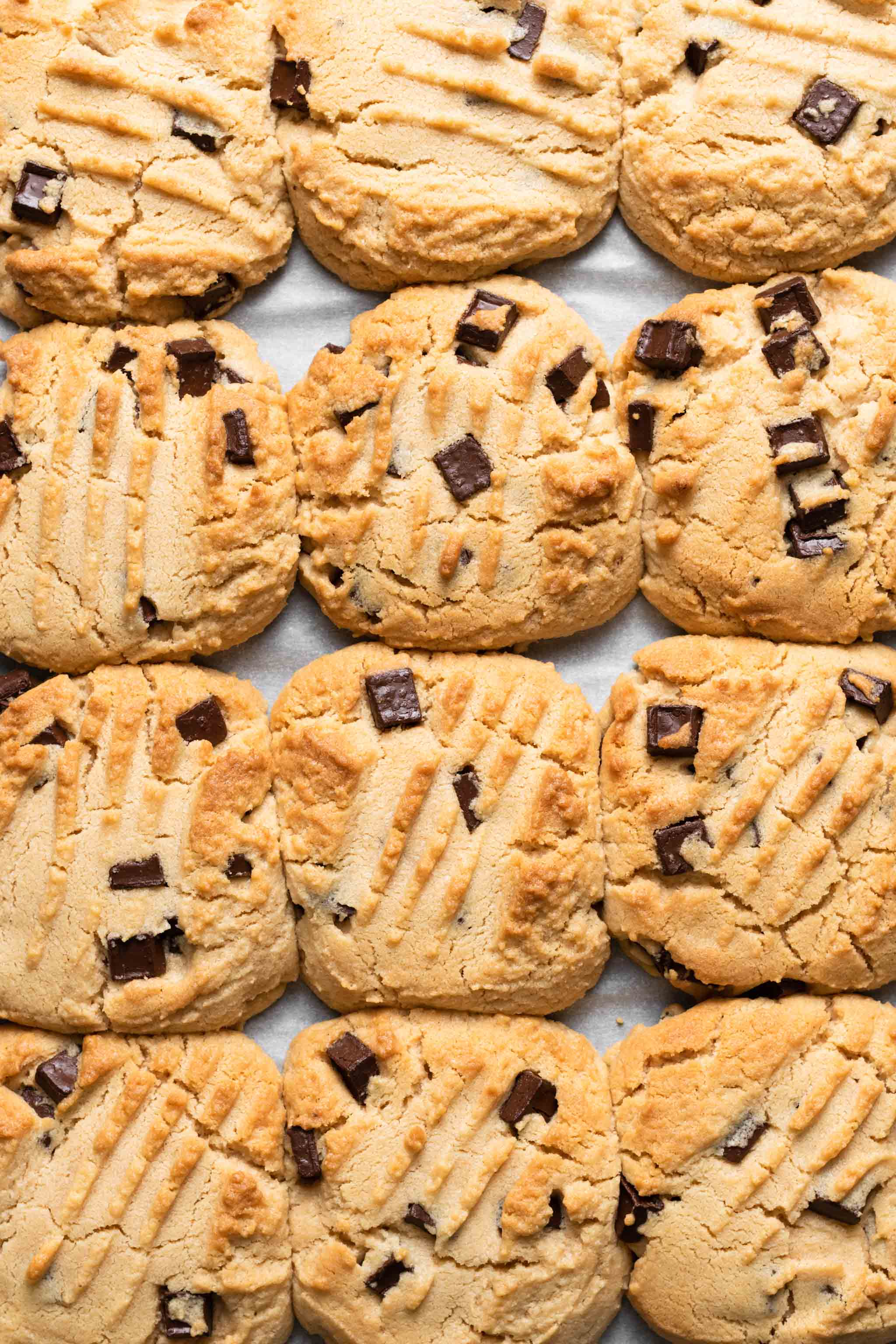 Bakes Peanut Butter Chocolate Chunk Cookie Dough Recipe