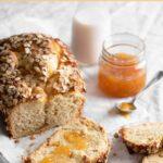 Peach Brioche Bread Recipe for breakfast