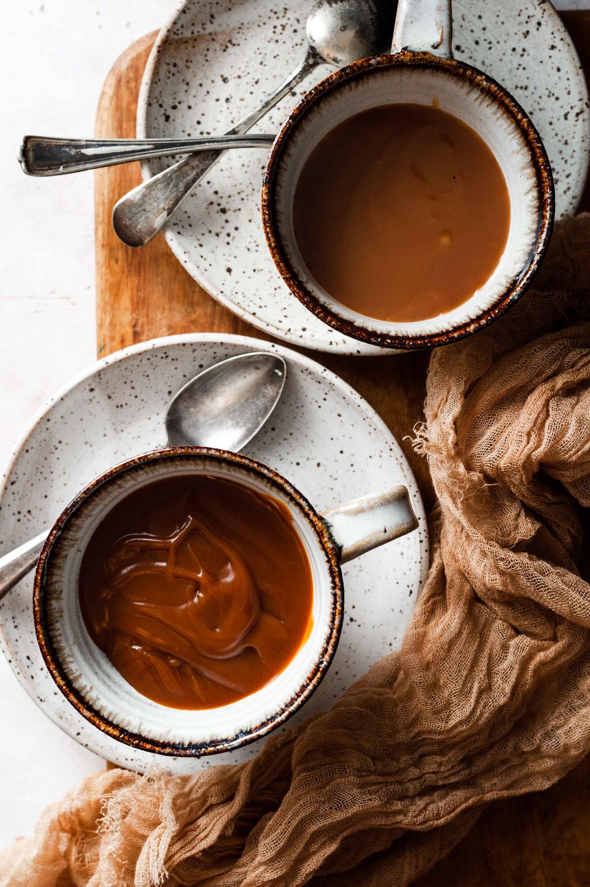 Dark and Light Caramel Recipe