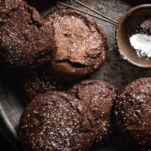 Soft Chocolate Gingerbread Cookie Recipe