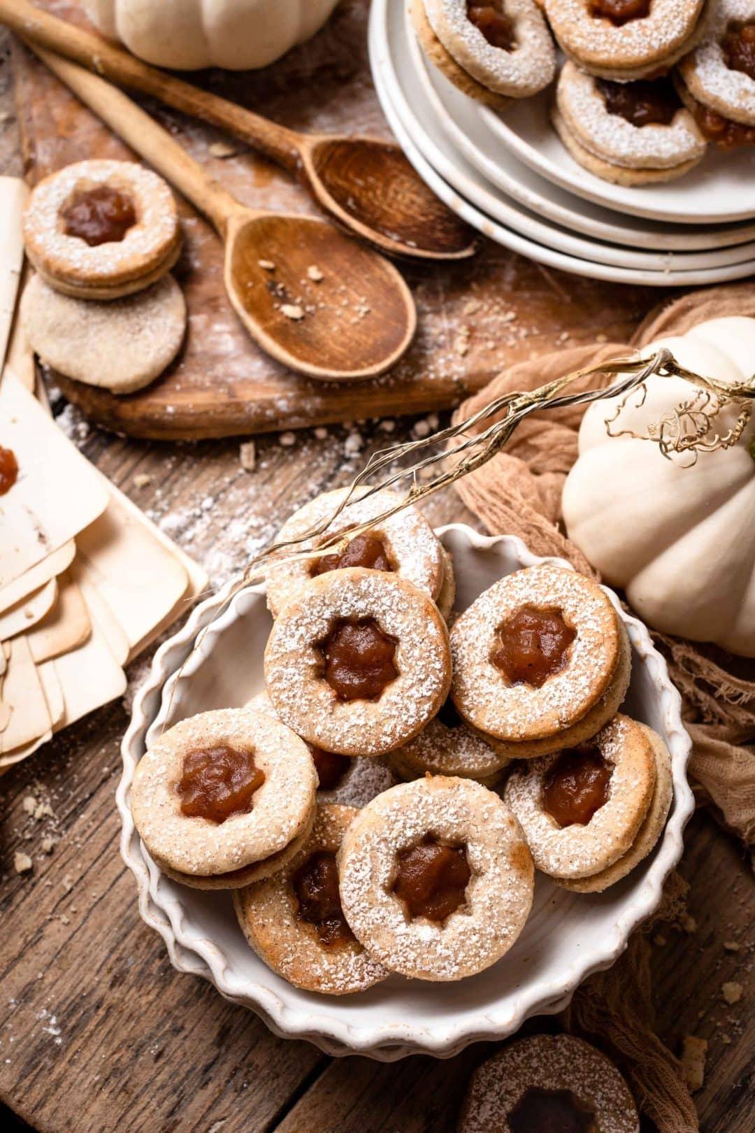 Recipe for Homemade Apple Butter Sandwich Cookies