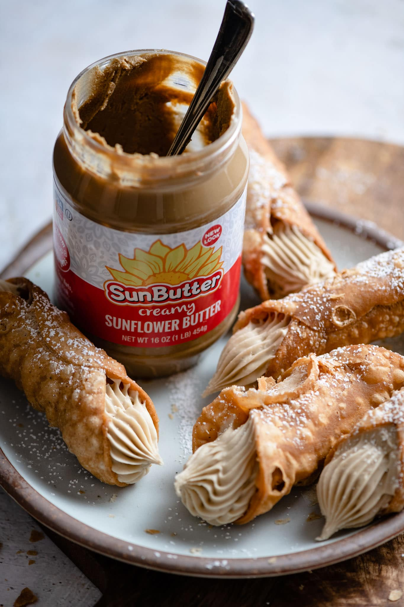 homemade cannoli recipe with Sunbutter