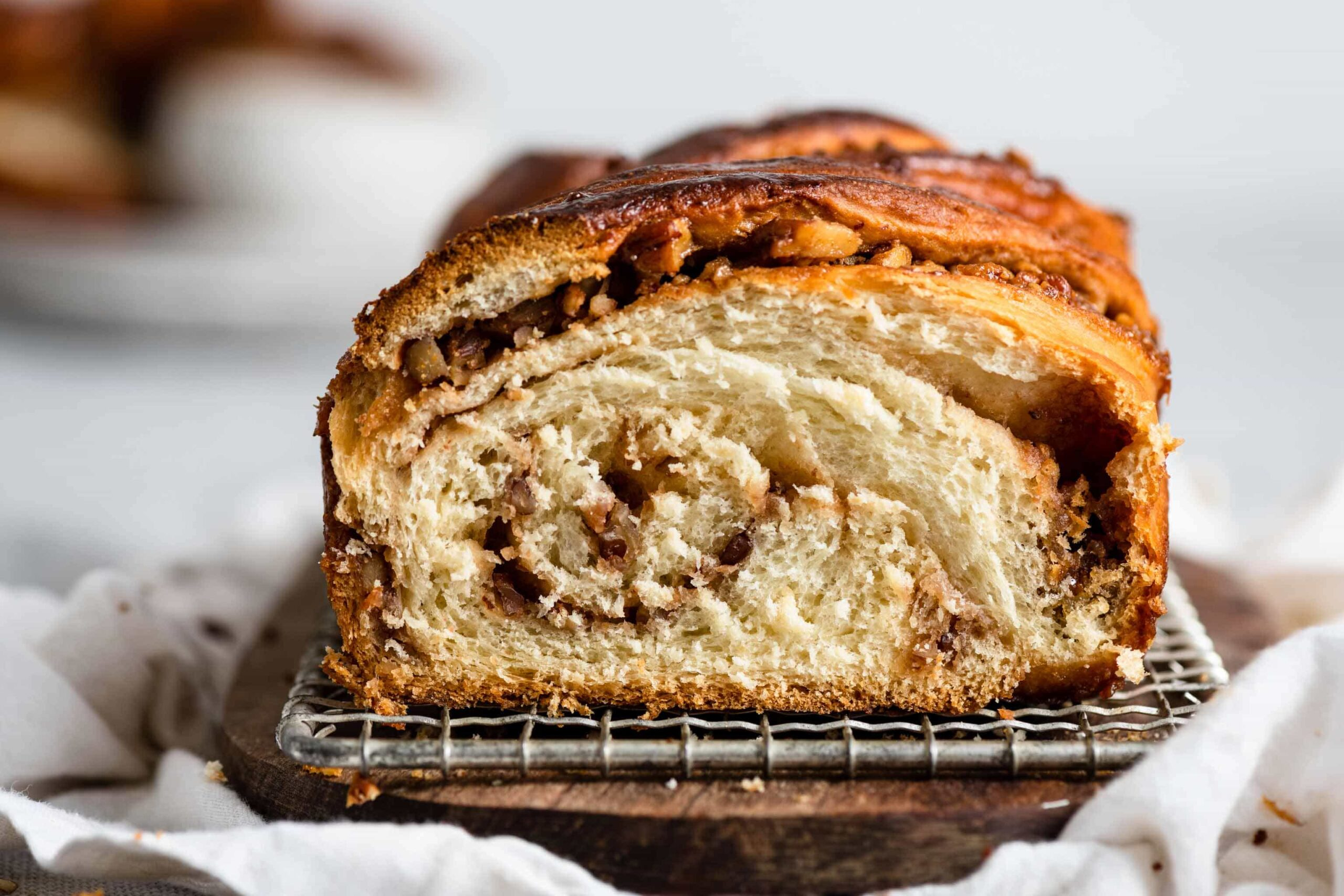 Homemade Babka Recipe with caramel and butterscotch