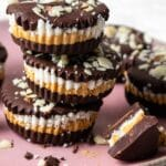Chocolate Peanut Butter Cup Recipe with pumpkin and coconut