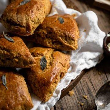 homemade sage pumpkin scone recipe