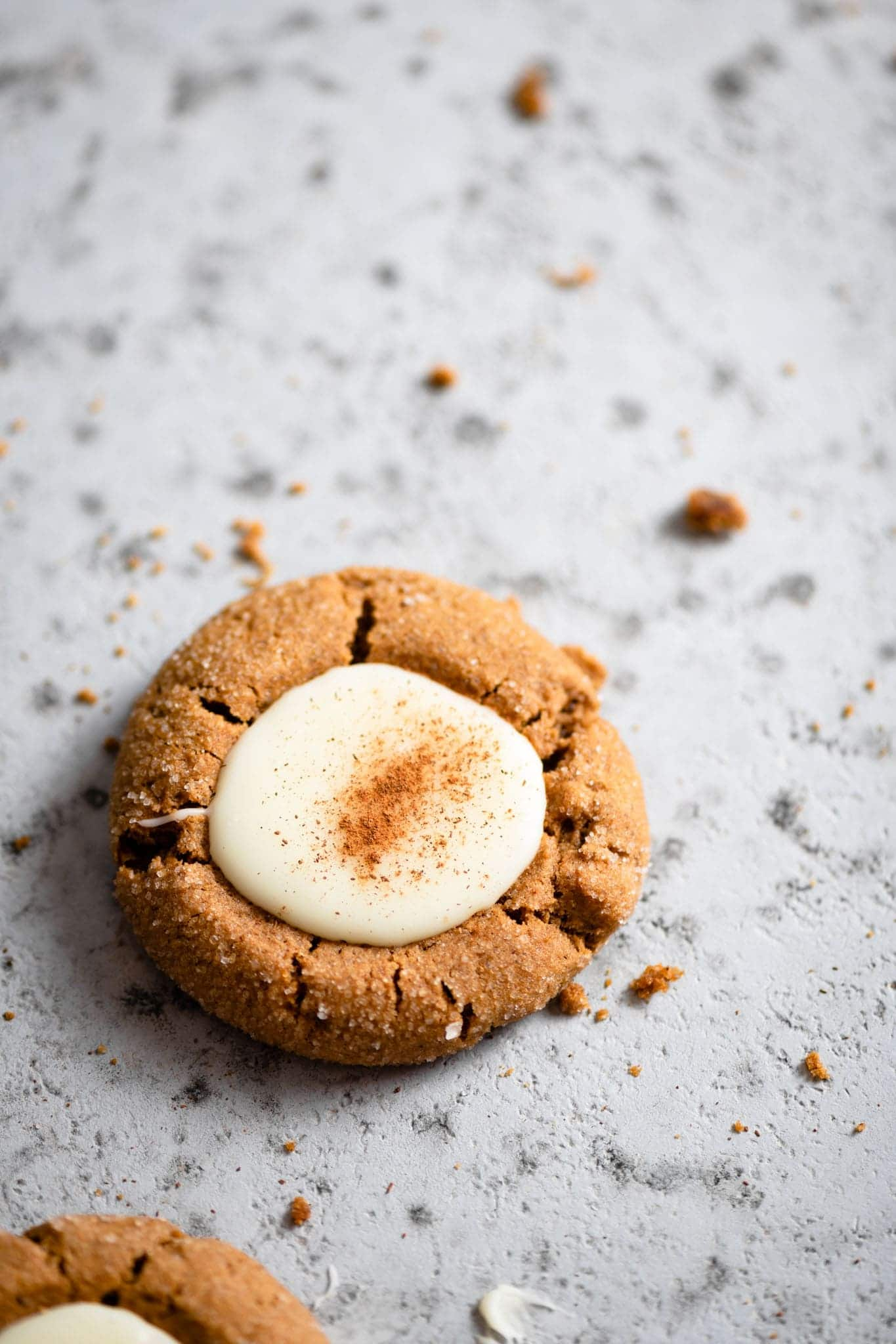 Christmas Cookie recipe with eggnog and gingerbread