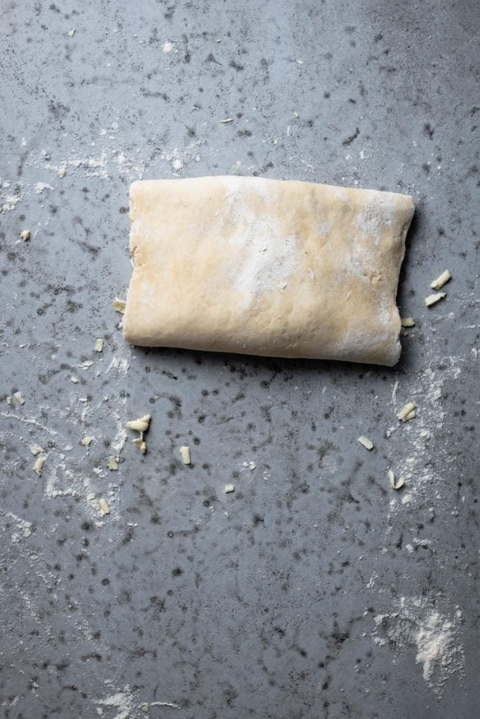 Homemade Rough Puff Pastry   #puffpastry #pastry #pastrydough #homemadedough #homemadepastry #pastryrecipe #roughpuffpastry #howtomakepatry   twocupsflour.com