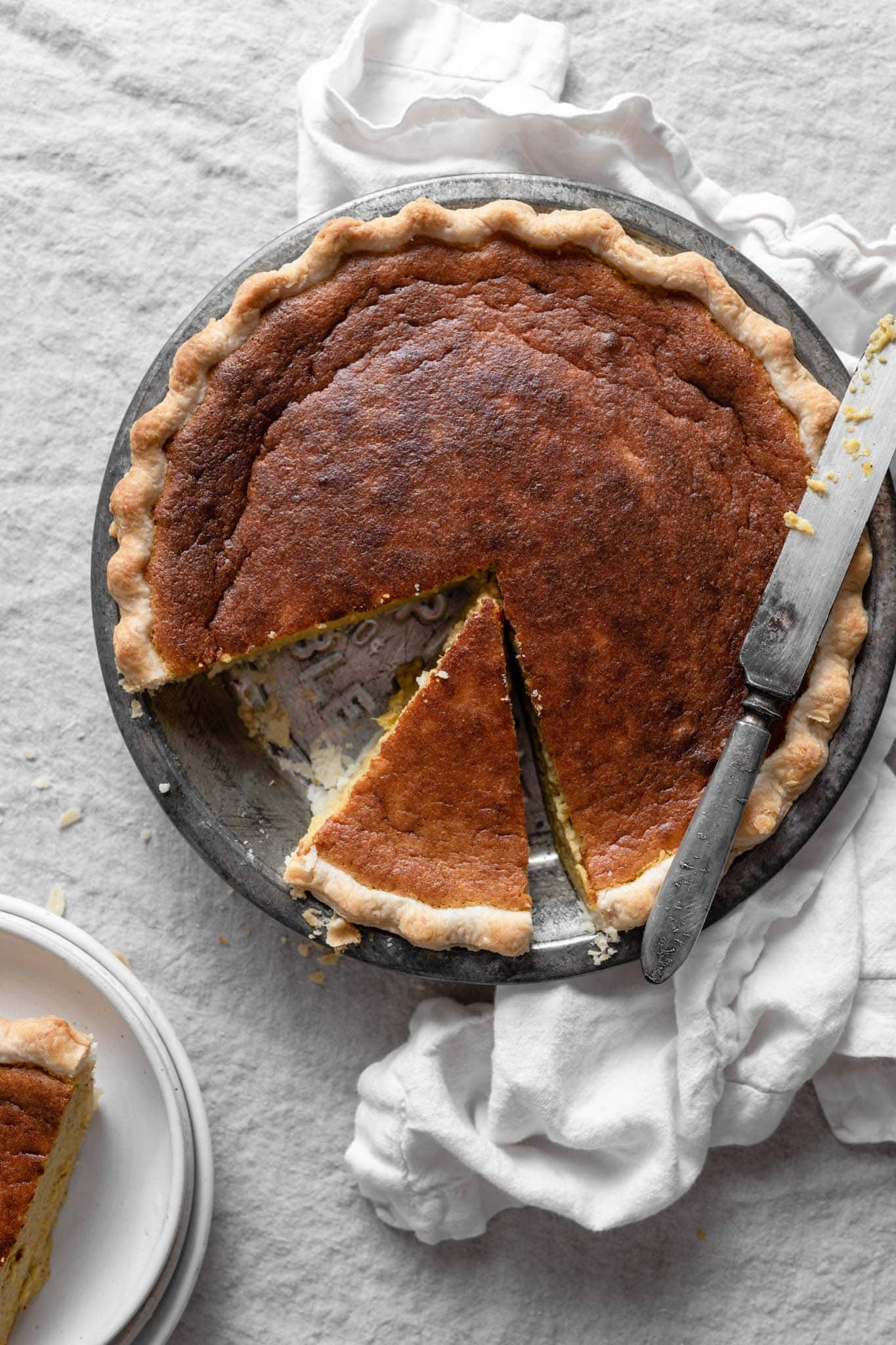 homemade pumpkin pie recipe with whipping cream