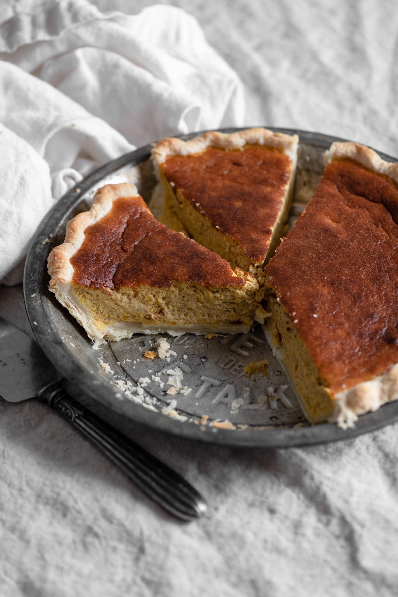 homemade pumpkin pie recipe with fresh pumpkin puree