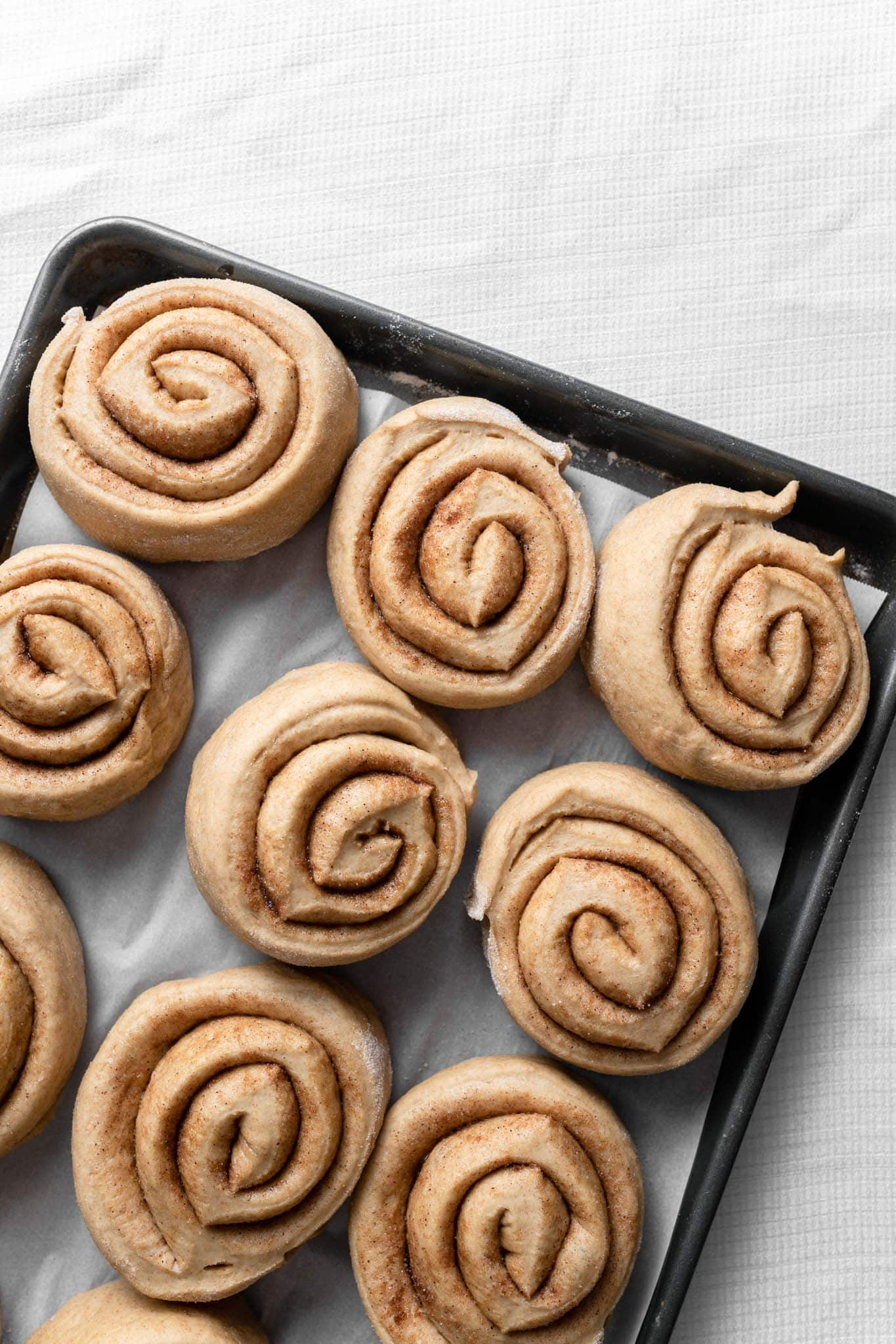 cinnamon roll recipe made with sunflower butter