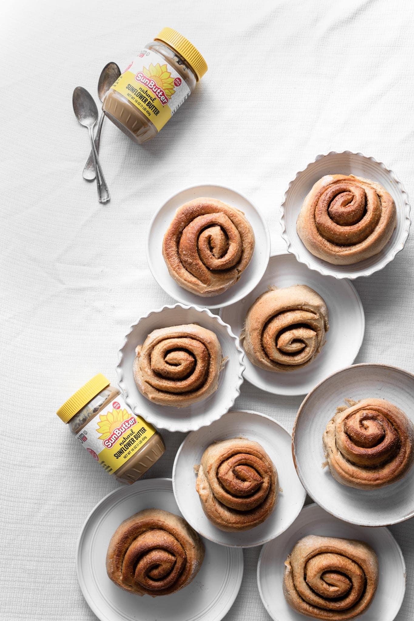 Sunbutter cinnamon rolls recipe