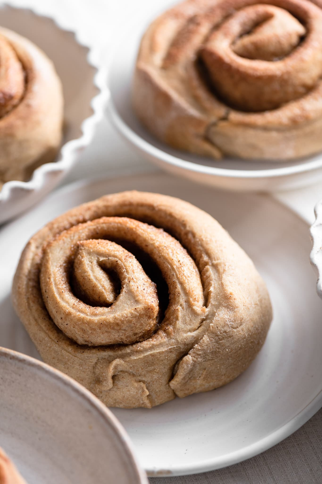 homemade jumbo soft cinnamon roll recipe