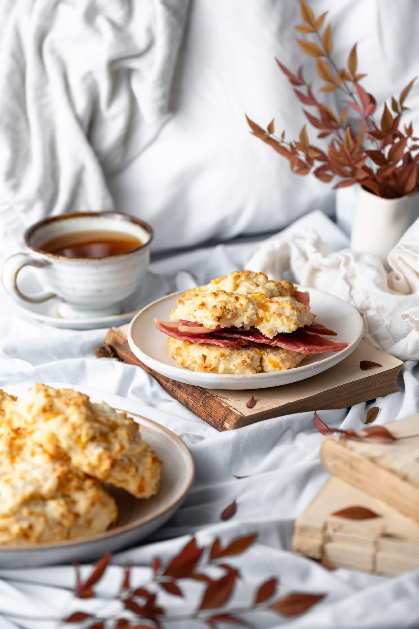 country ham buttermilk biscuits for breakfast