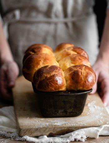Homemade Brioche Nanterre Bread Recipe