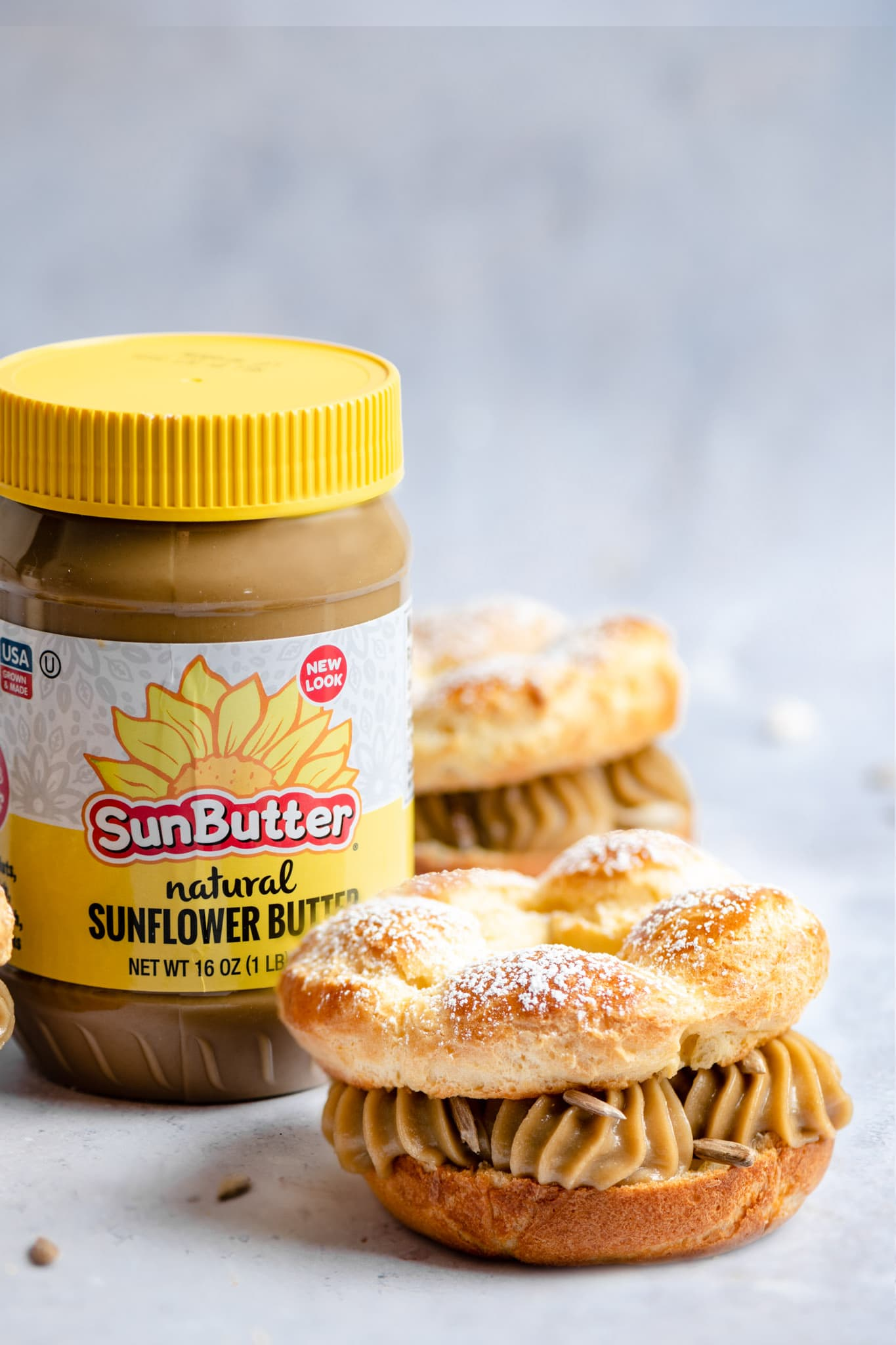 Sunflower Paris Brest Recette Recipe with SunButtet