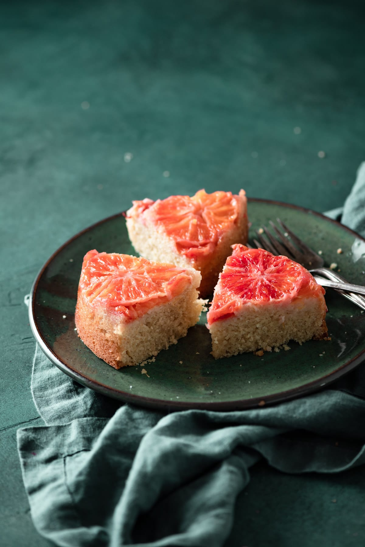 Orange upside down cake recipe with buttermilk.