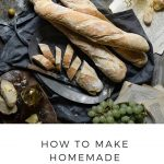 How to make homemade french baguettes.
