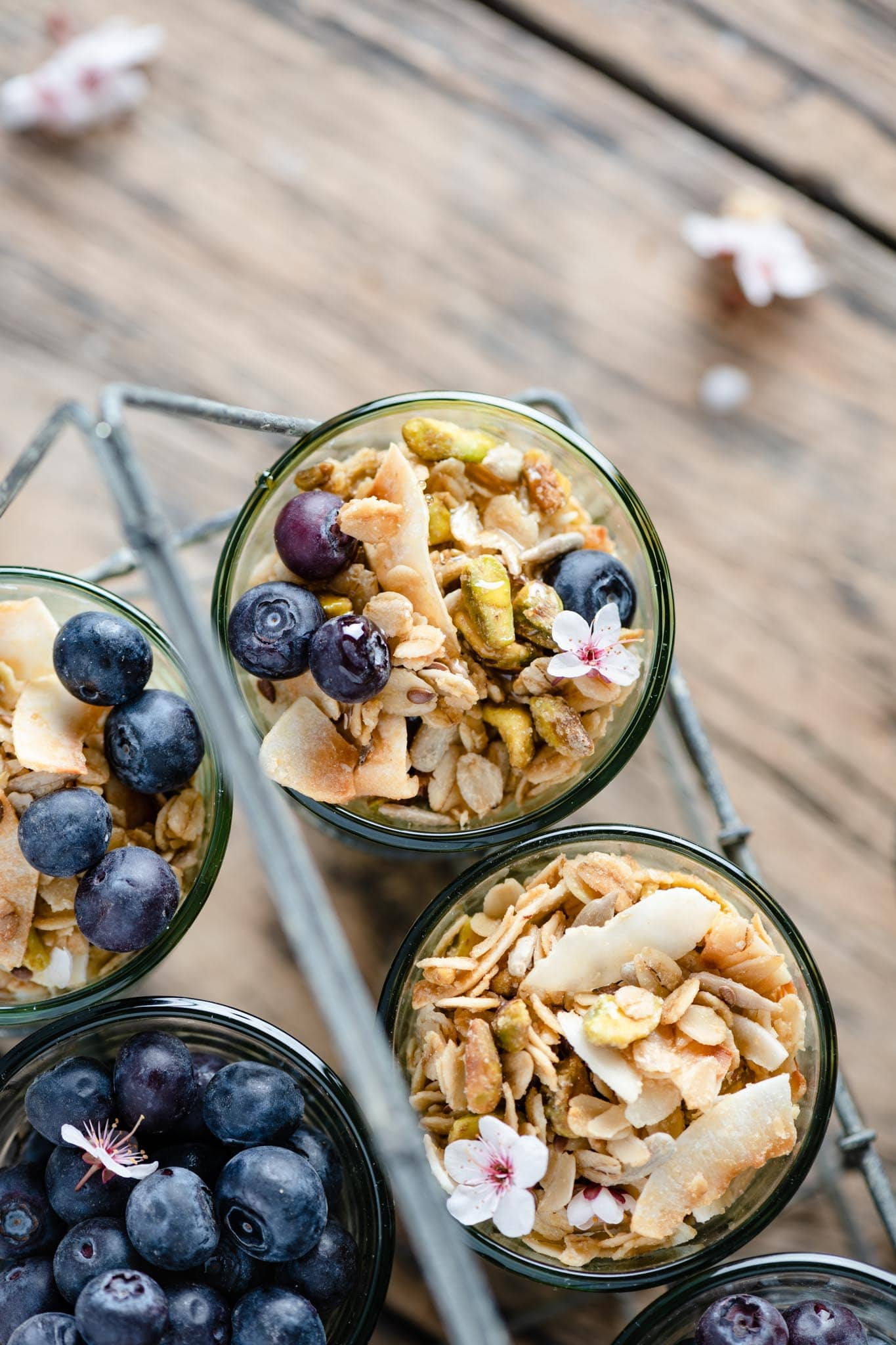 Granola Cereal with oats, nuts, and toasted coconut.