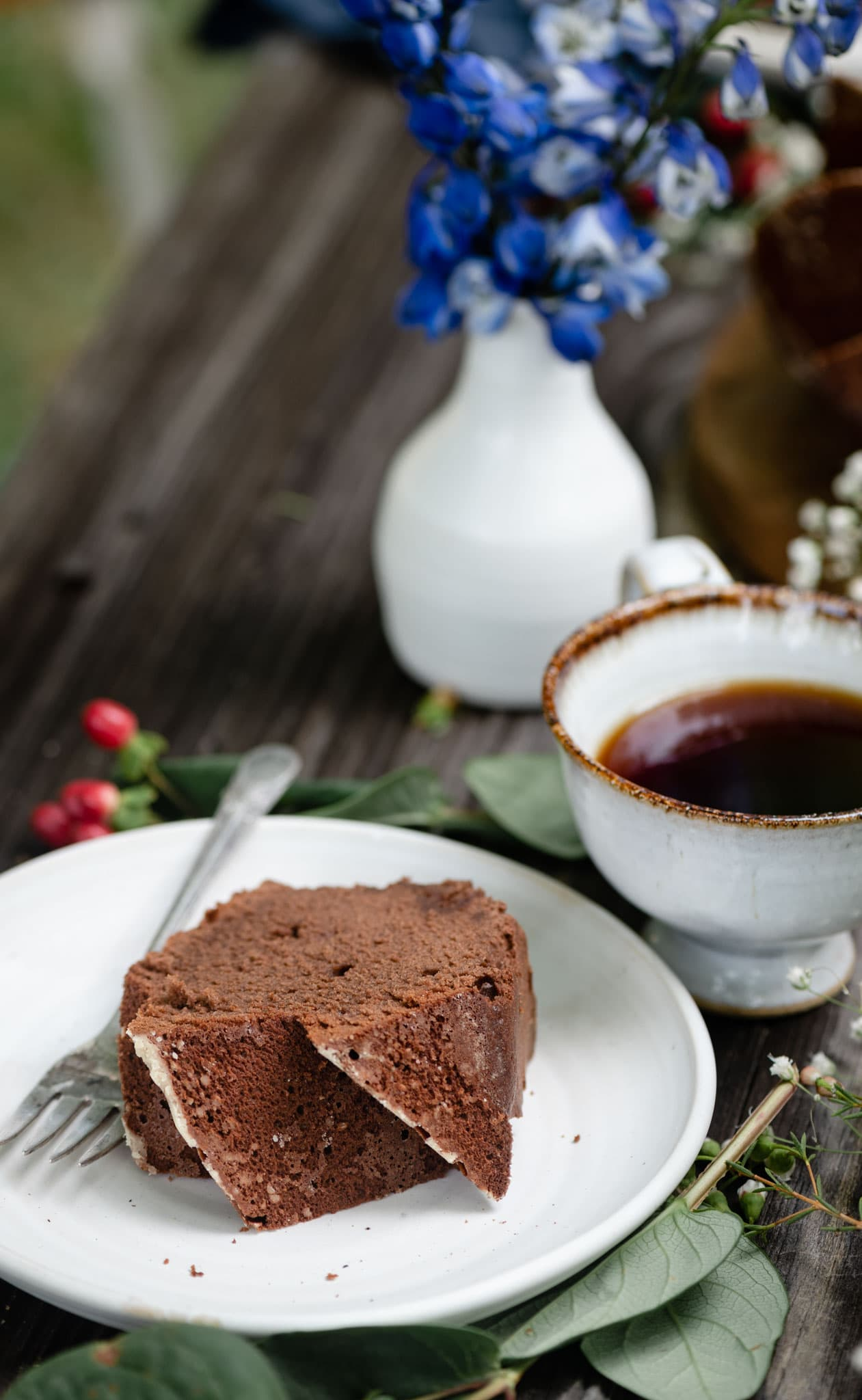 The best chocolate pound cake recipe.
