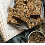 Recipe for healthy granola bars.