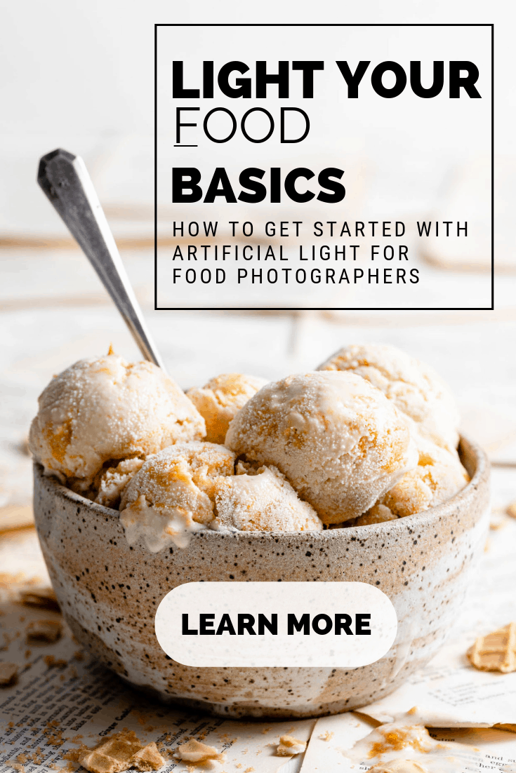 Artificial Light for Food Photographers online course.