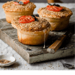 Recipe for savory pies.